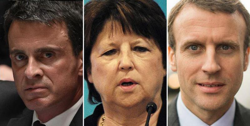 Valls, Aubry, Macron: trois figures du naufrage de la gauche